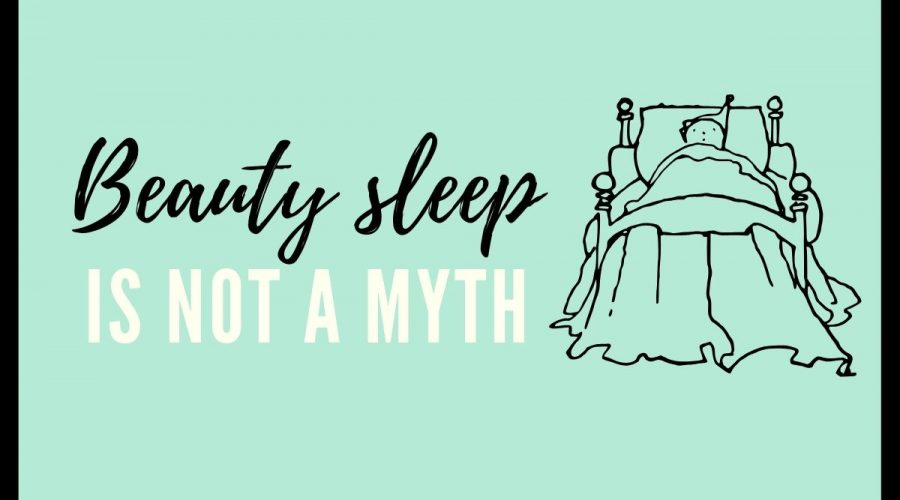 Beauty sleep – is not a myth.